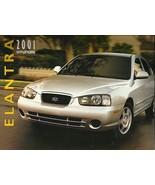 2001 Hyundai ELANTRA sales brochure catalog US 01 GLS - $6.00