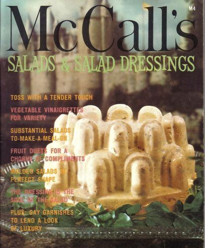 McCall's Salads and Salad Dressings Cook Book M4 1972