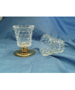 Home Interiors Lady Love Sconce Votive Cups Homco - $10.00