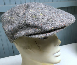 H&M Gray Wool Blend Medium Size 58 Newsboy Hat Cap  - $14.67