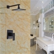 Seine-Maritime Wall Mounted Oil Rubbed Bronze Shower Set - $267.00