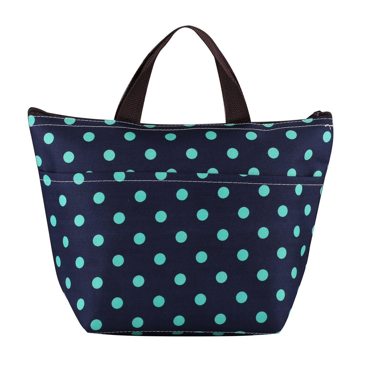 Insulated Lunch Bag Women Tote Thermal Box Cooler Travel Picnic girls Beach Bag