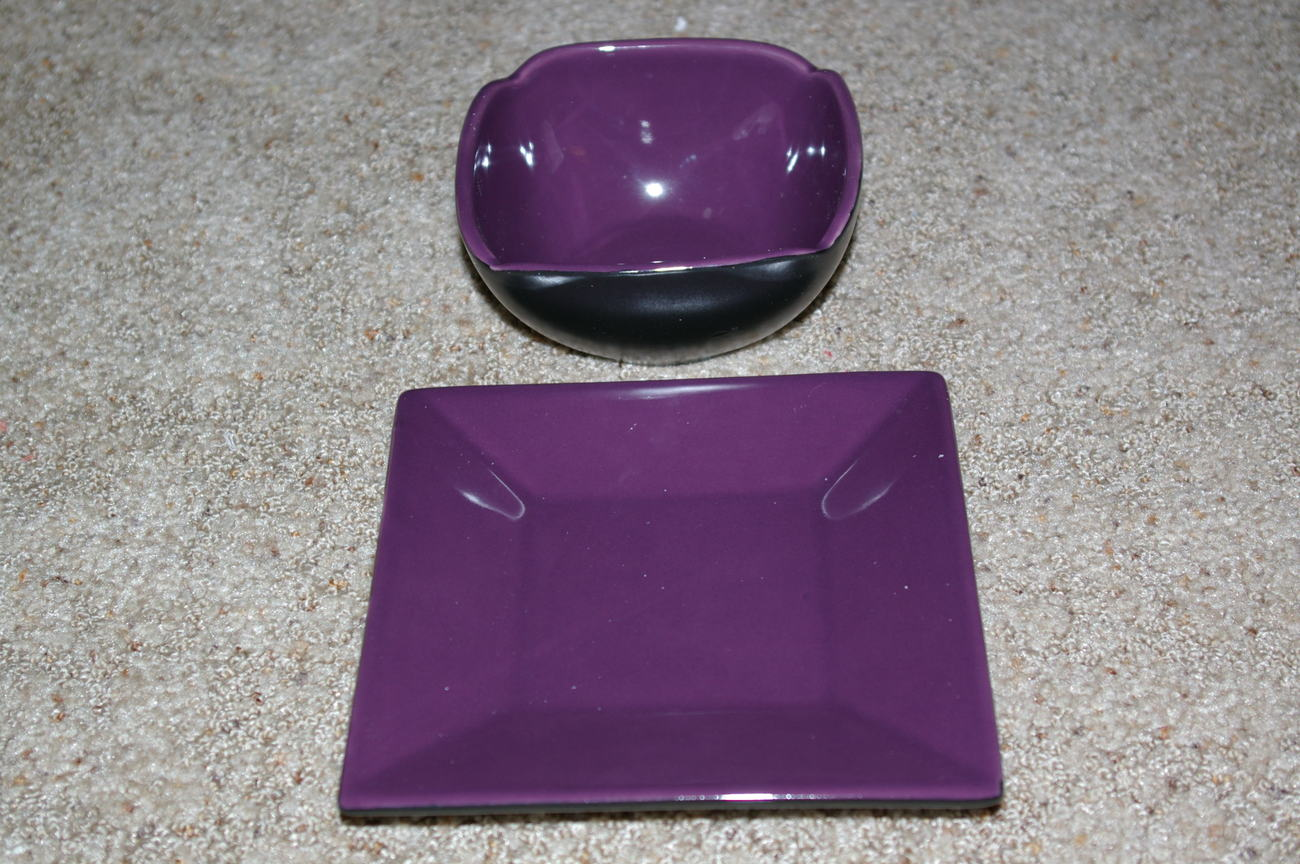 PartyLite Zen Candleholder Set Party Lite