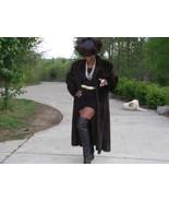 Charles Klein Full length Mink Fur Coat XL +Brim hat - $2,177.99