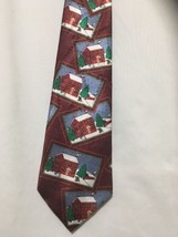 Yule Tie Greetings Christmas Tie Hidden Candy Canes - $12.38