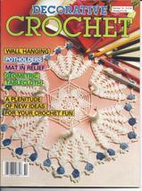 Decorative Crochet Pattern Magazine #14~~30 Patterns - $4.25