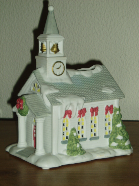 PartyLite Church Tealight House Party Lite