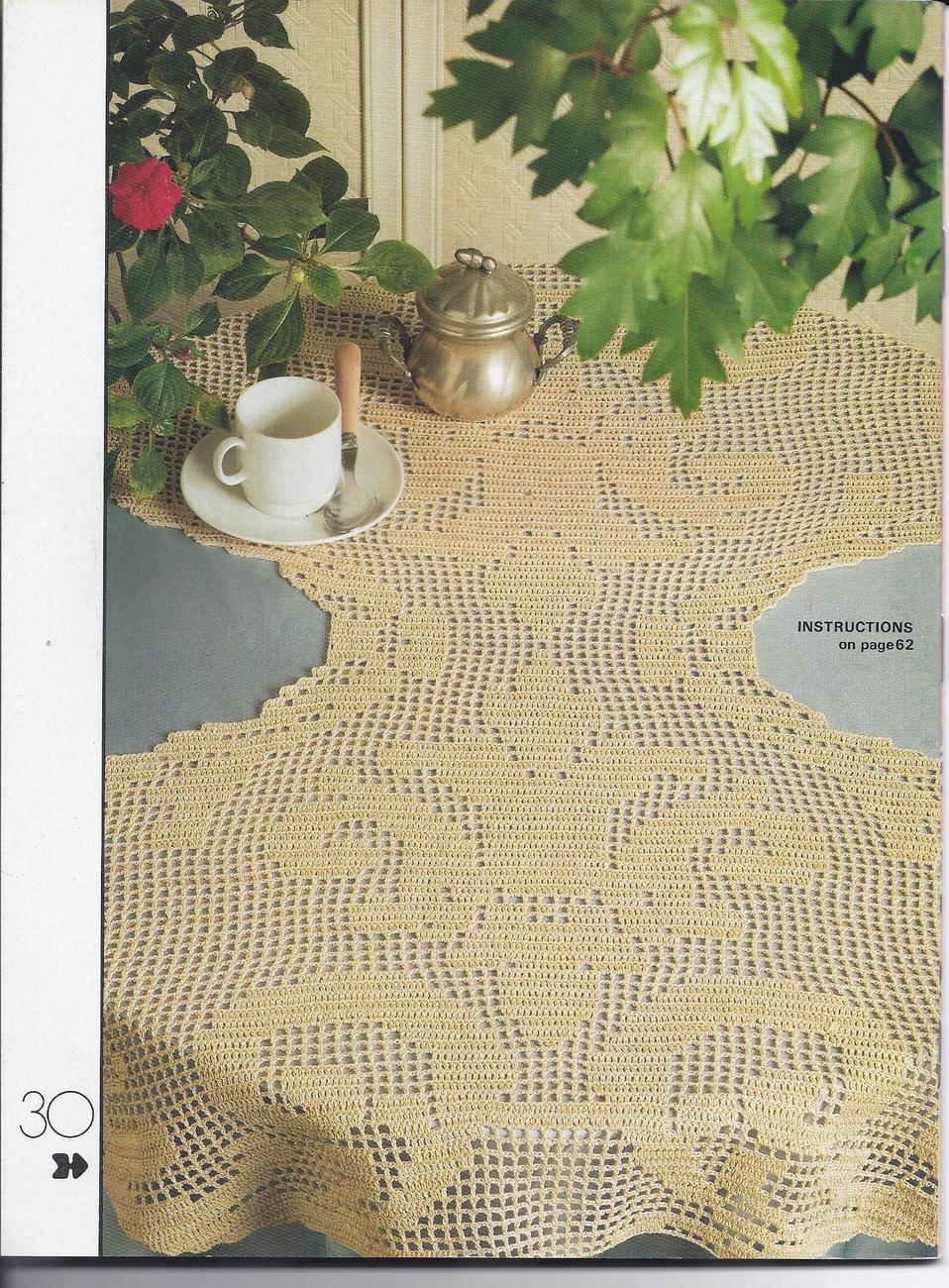 Decorative Crochet Pattern Magazine #14~~30 Patterns