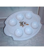 BMP Escargot Egg Keeper Blue Mountain Pottery Country Charm - $15.00