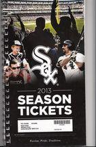 MLB 2013 Chicago White Sox Full Unused Ticket Stubs - $5.00