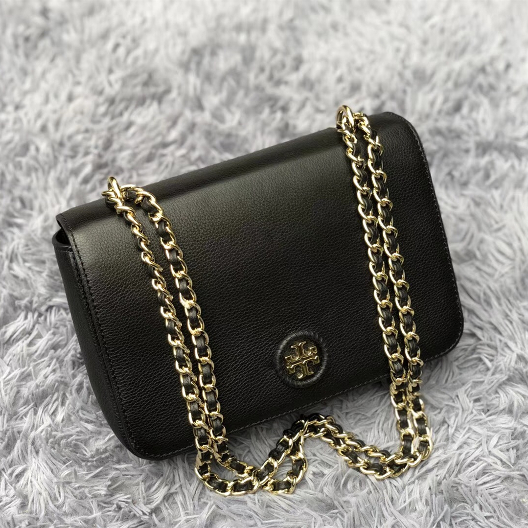 8e51d3bc943 Tory Burch Whipstitch Logo Adjustable Chain and 50 similar items. Img 3353