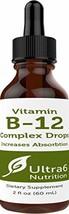 Vitamin B12 Drops in Liquid Form for Best Absorption - Methylcobalamin B12 Great image 1