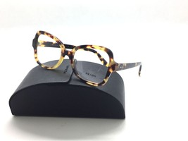 Prada Yellow Havana Butterfly Eyeglasses VPR 25S 7S0-1O1 51mm w/Case - $87.27