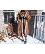 Full length Stone Marten Sable Fur coat jacket S-M+ hat - $2,474.99