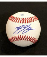 RYAN BRAUN AUTOGRAPHED SIGNED O.L. BASEBALL Milwaukee BREWERS Ball Cube ... - $59.99