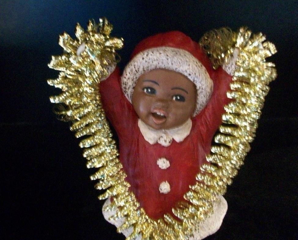 All God's Children - Christmas Rose, New in Box w/COA