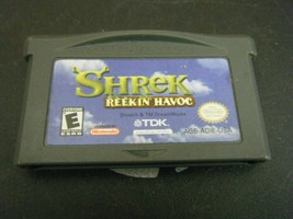 Shrek: Reekin' Havoc (Nintendo Game Boy Advance, 2003) - Game Only!!! - $4.94