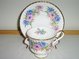 Vintage Paragon English Bone China Cup & Saucer, 1950s / 1960s, Pattern #F54E - $20.00