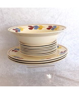 Blue Ridge 12 SPI Replacement Dishes Southern Galleries Handpainted Unde... - $24.99