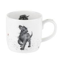 Royal Worcester Wrendale Designs Mug - Walkies Labrador, 11 oz - $12.84