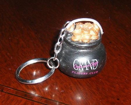 GRAND CASINO Mille Lacs Hinckley Promo Keychain