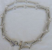Newage silver necklace  - $130.00
