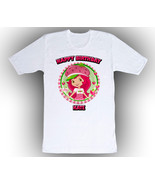 Personalized Strawberry Shortcake Birthday T-Shirt Gift  - $14.99
