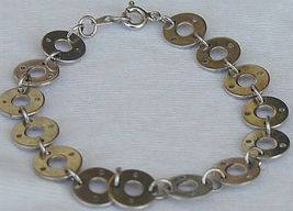 Round silver bracelet thumb200