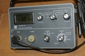 YSI Model 58 Dissolved Oxygen Meter + YSI probe 5739 DO