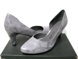 Tsubo Fifee Snake Charcoal Women Heels US9.5/UK8/EU40.5/JP26.2 - $49.49