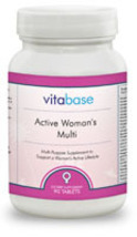 Active Woman's Multi-Vitamin and Mineral Supplement 90 Tablets - $22.95