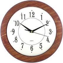 "Timekeeper 6415 12"" Wood Grain Round Wall Clock - $31.37"