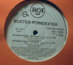 "Buster Poindexter - International Playboy - RCA 2531-1-RDBA - 12"" Single - PROMO"