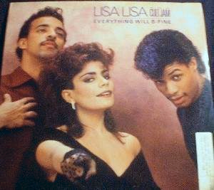 Lisa Lisa and Cult Jam - Everything Will B-Fine - CBS Records 44 07584 - PROMO