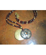 BOHO Long  Pendant Necklace - $8.00
