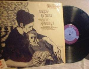 "Cantor Josef Rosenblatt - Songs Of My People ""Yossele"" - RCA Camden CAL-597"