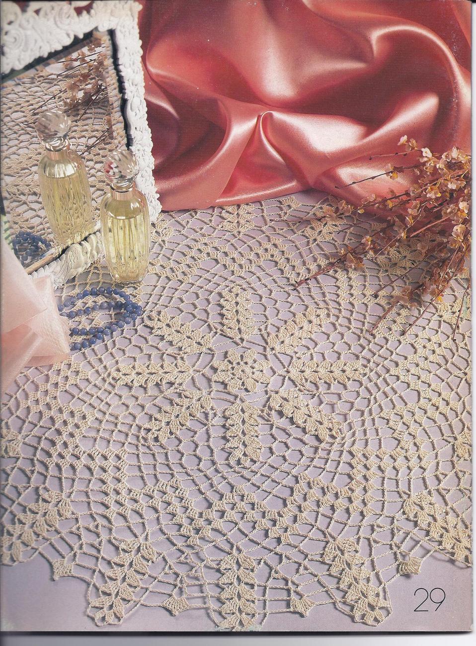 Decorative Crochet Pattern Magazine #16~~29 Patterns