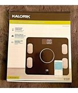KALORIK DIGITAL SMART SCALE WITH BODY ANALYZER/USER MEMORY/SMARTPHONE CO... - $29.69
