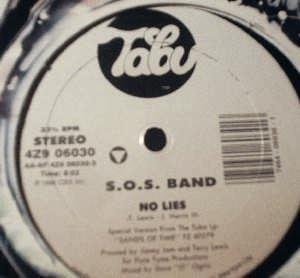 S.O.S. Band - No Lies - Tabu Records - Tabu Records 4Z9 0603