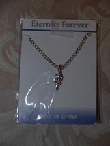Swarovski Inspired Design Fashion Necklace small S shape Ete - $6.95
