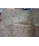 Transfer Pattern: Old Sent-for Flower Quilt Applique - $3.00