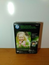 HP Genuine Everyday Photo Paper 100 Sheets 4x6 Glossy Sealed - $12.72