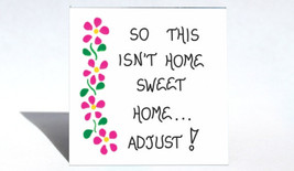 Housekeeping Humor Magnet  -  Humorous quote, domestic, cleaning, organizing, ho - $3.95