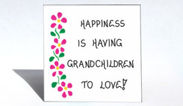 Grandmother refrigerator magnet - Grandchildren, quote, Grandma, Nana, Oma, happ - $3.95