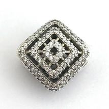 Authentisch Pandora Geometrische Linien Klar Cz Sterlingsilber Charm 796... - $71.01
