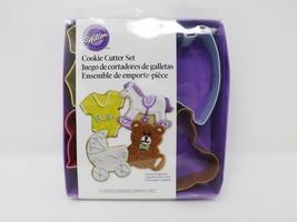 Wilton 4 Piece Baby Cookie Cutter Set - $9.49