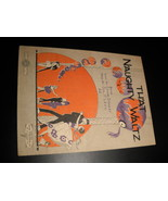 Sheet Music That Naughty Waltz Edwin Stanley Sol P Levy Forster Music 1920 - $8.99