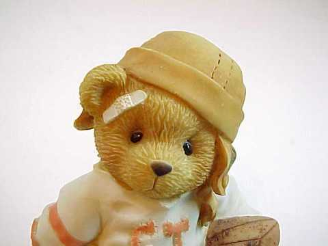 Cherished Teddies BUTCH The CT High Football Player Bear Figurine