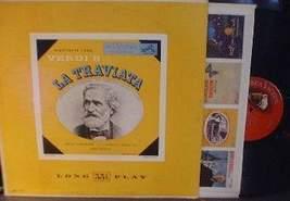 VERDI; La Traviata - Frieder Weissmann - RCA LM 1115 - $3.00