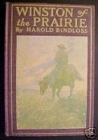 WINSTON OF THE PRAIRIE-HAROLD BINDLOSS,W.H.DUNTON,1907
